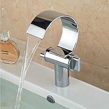 Ytdzsw Wasserfall Waschbecken Armaturen Mit