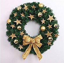 Yter Pentagramm Weihnachten Girlande Tür