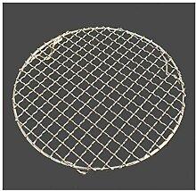 YTG 304 Edelstahl Rundgrill Net mit Fußgrill BBQ