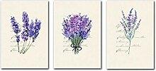 YTHK Nordic Lavender Englisch Combina Dekorative