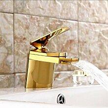 YTYASO Wasserfall Wasserhahn Badezimmer