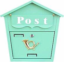 Yuang Briefkasten, Wand-Villa-Briefkasten,