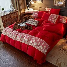 Yuang Vierteiliges Fleece-Set Warme