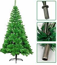 Yuanline 120 cm Weihnachtsbaum Weiß/Grün