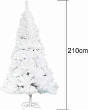 Yuanline 210 cm Weihnachtsbaum Weiß/Grün