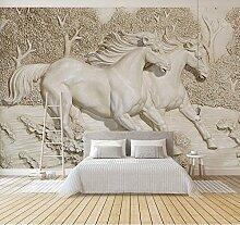 YUANLINGWEI 3D Wandbild Tapeten Für Sofa