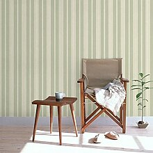 YUANLINGWEI Hellgrün Tapete Vertikal Gestreifte Tapete. Wallpaper Für Schlafzimmer Wohnzimmer Hintergrund Wand