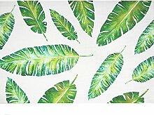 YUANLINGWEI Tropische Pflanzen Tischset Esstisch