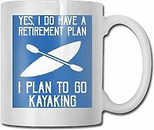 Yuanmeiju Keramikbecher I Plan to GO Kayaking