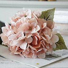YuanNa DIY Künstliche Hortensie Seidenblumen