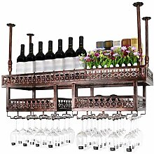 Yuany Flasche Weinregal, Wandbehang Decke