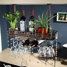 Yuany Flasche Weinregal, Wandhalter Home