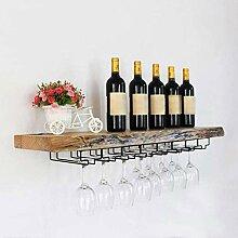 Yuany Flasche Weinregal, Wandmontage hängen aus