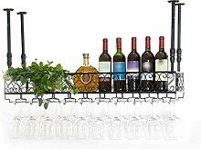 Yuany Flasche Weinregal, Weinhalter Decke Hängen