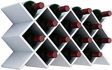 Yuany Flaschen Weinregal, Flaschenregal Stapelbar