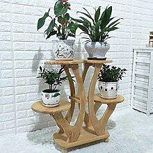 YUANYI Holz Topf Rack Blumenständer Regal Pflanze