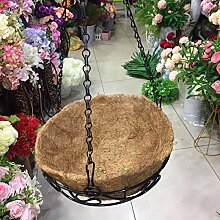 YUCH Blumentopf Land Handgemachte Willow Gewebe An