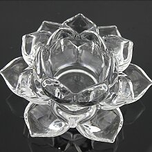 YUCH Crystal Lotus Leuchter Heimtextilien Schmuck