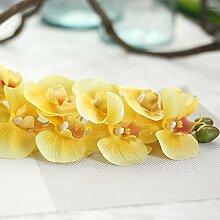 YUCH Hochzeit Fake Blumen Großer Schmetterling