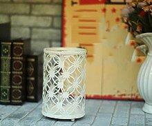 YUCH Leuchter Hohlglas Winddicht Home Decoration