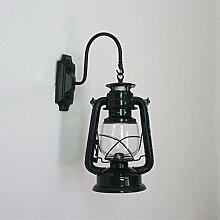 YUCH Wandleuchte, Retro Petroleumlampe Wand,