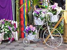 YUCHAO Blumenwagen Fahrrad DIY handgefertigt