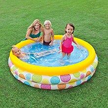 YUCHAO Familien-aufblasbarer Pool Aufblasbarer
