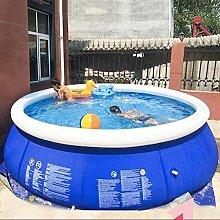 YUCHAO Runder Familien-aufblasbarer Pool-über