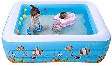 YUCHAO Sand Rechteckigen Aufblasbaren Pool Super
