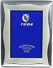 YUDA Fotohalter Silber, Bilderrahmen für Fotos,