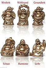 Yudu® 6 stück verschiedene Buddha Figuren