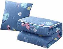Yue Lian Decke und Kissen in Einem, Decke 100 x