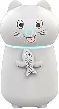 Yue668 Nette Katze 3 in 1 Luftbefeuchter LED