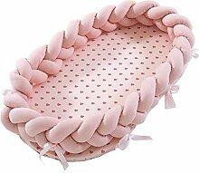 YUEHAPPY® Babynest Kuschelnest Matratze im Bett