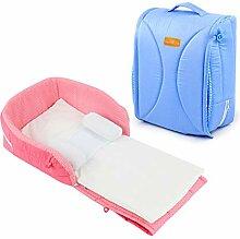 YUEHAPPY® Tragbare Babybett mit Schrägkeil