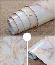 YUELA 10M Marmor Selbstklebende Tapete Peel &