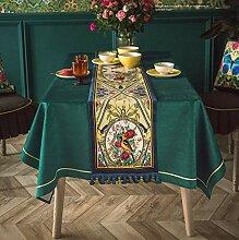 yuexishan Einfarbige Tischdecke IKEA Tischdecke