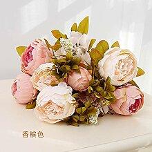 yueyue947 Künstliche Blume Kunstblume
