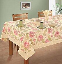 Yuga 100% Cotton Tischdecke für 4 Chair Standard Table Gedruckt Tischdecke Tischdecken 60 x 60