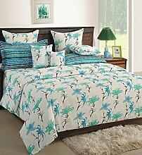 Yuga 8 in Beutel Bett Stücke weißen Baumwollmaterial Tröster Bettwäsche-Set Se