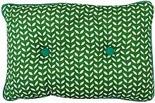 Yuga Dekorative Blatt Gedruckt Baumwolle Gefüllte Kissen Sham Kissen - Größen & Farben Erhältlich