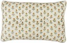 Yuga Mit Blumen Muster Kantha Stich Dekorative Baumwolle Gefüllt Kissen Sham Kissen - Größen & Farben Erhältlich