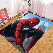 Yugy Teppich Kinder Anime Spiderman Junge mädchen