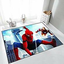 Yugy Teppich Kinder Cartoon Anime Spider-Man