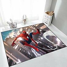 Yugy Teppich Kinder Cartoon Spiderman Junge