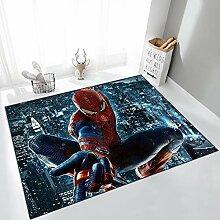 Yugy Teppich Nordic Spider-Man Kinder Rechteckiger