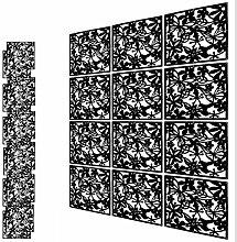 YUHANOER 12 Stück DIY PVC Raumteiler, hängende