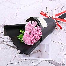 Yuhualiyi123 3 Rose Seife Blumenstrauß