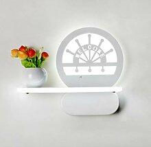 YUI Kind LED Wandlampe Modern Kreativ Metall