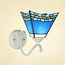 YUI Kreativ Einfach Wandlampe Glasschirm